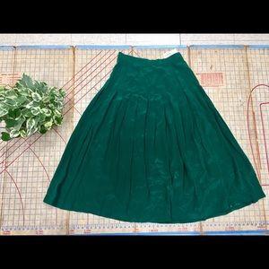 NWT Vintage Talbots silk midi skirt